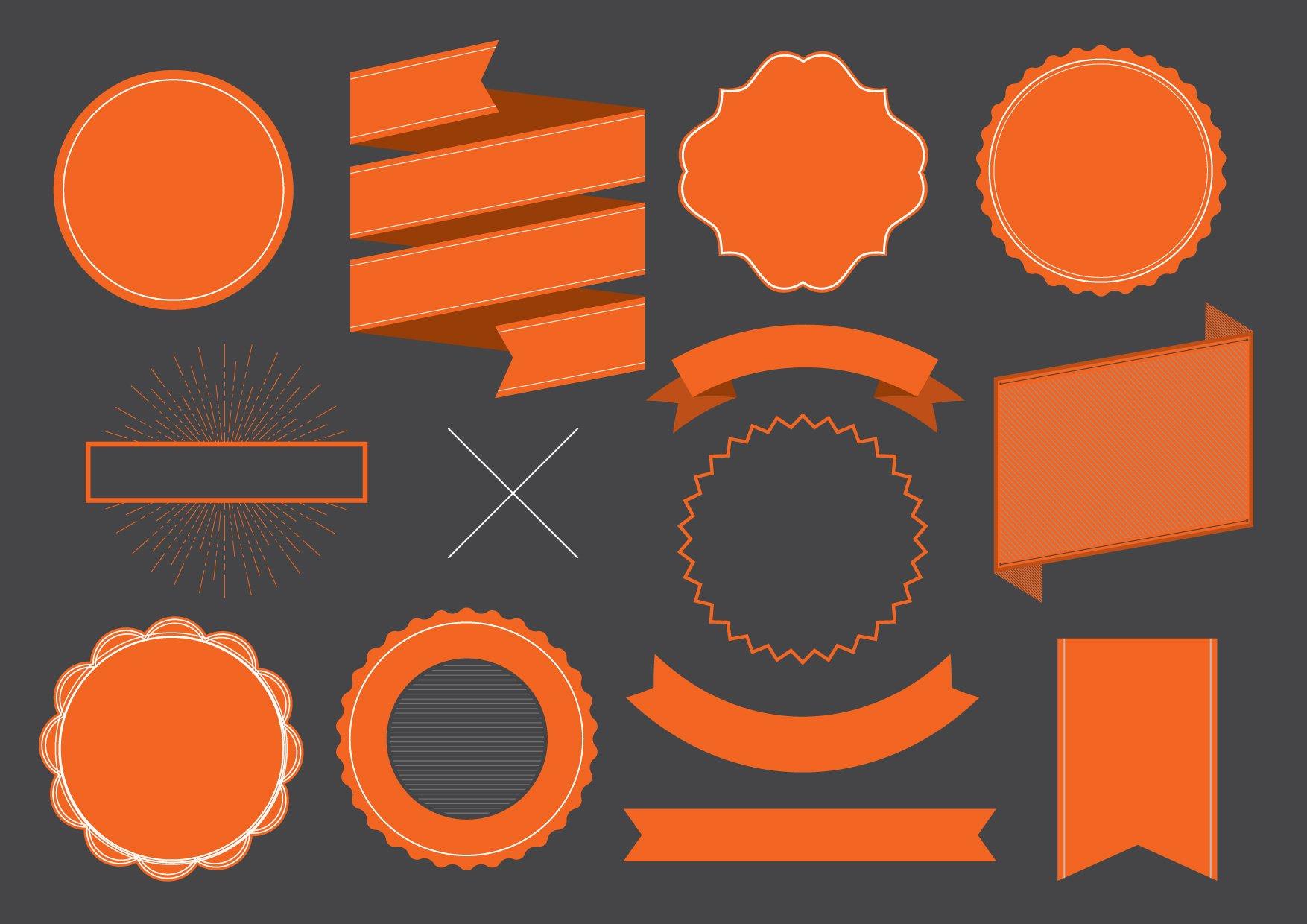 Hipster Logo Template Vector Illustrations Creative Market