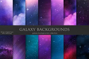 Galaxy, Space Backgrounds