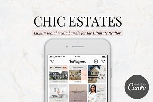 Chic Estates Social Media Bundle