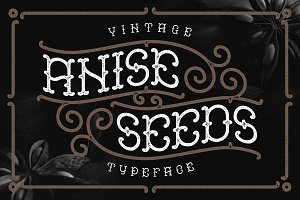 Anise Seeds typeface