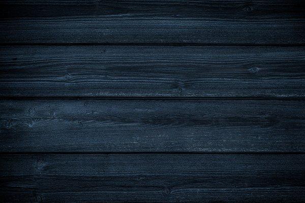 Blue Dark Navy Wood Background