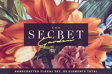 The Secret Garden • Floral Pack by  in Objects