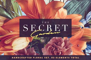 The Secret Garden • Floral Pack