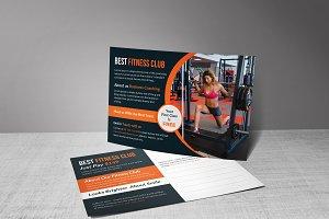 Best Fitness Club Postcard