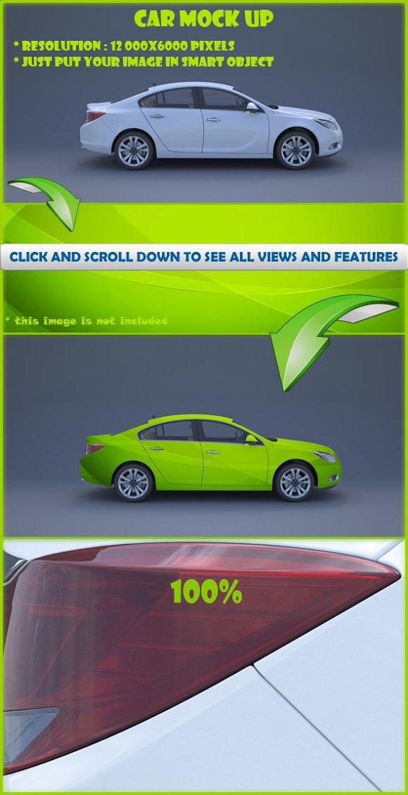 Download Car Mock-Up