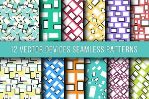 Technics & Devices Seamless Patterns