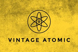 Vintage Atomic Texture Brushes