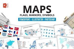 Maps infographics