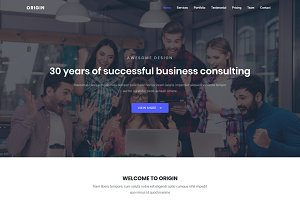 Origin - Business Bootstrap 4 Theme