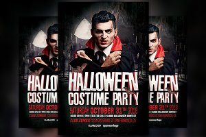 Halloween Costume Party Vol 2 Flyer