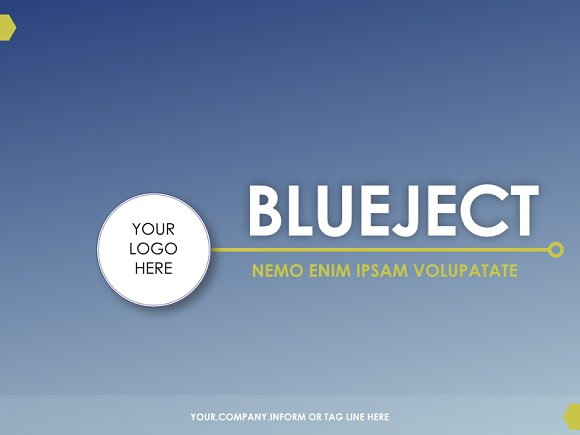 Blue Business Proposal Template