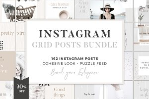 Instagram Grid Posts Bundle