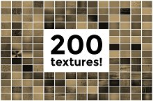 200 Textures / Backgrounds - Pack