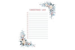 Christmas To Do Checklist with