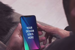 iPhone XS Mock-up #5