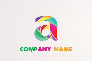 3D Flame Logo Design