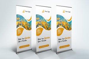 Garden - Roll Up Banner
