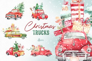 Christmas Trucks Collection