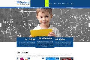 Diploma - School & Education Theme