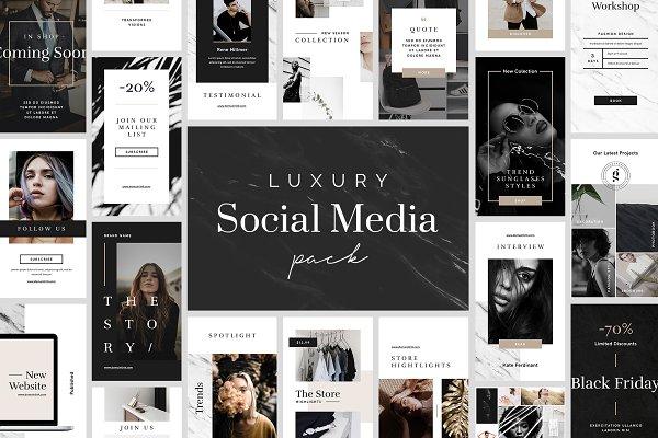 Luxury Instagram Stories Pack