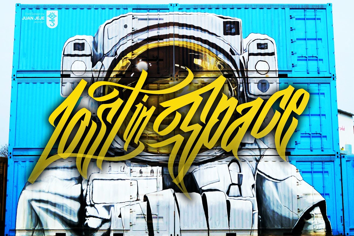 Wall Hunters   Graffiti Tag Fonts UP in Graffiti Fonts - product preview 2