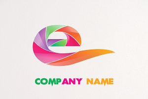 3D FLAME LOGO E DESIGN
