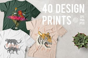 40 Beautiful Prints!