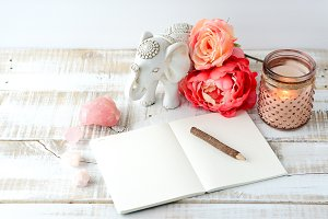Boho Notebook Setup 2