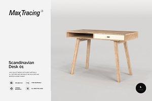 Scandinavian Desk 01