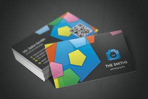 Photography Studio Business Card