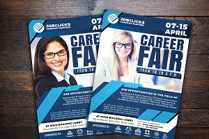 Job Career Company Flyer