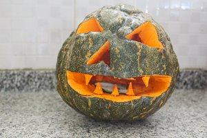 Pumpkin Halloween Detail