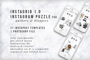 Instagram Puzzle 1.0 -Blogger/Author