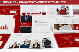 Libraries - Finance Powerpoint