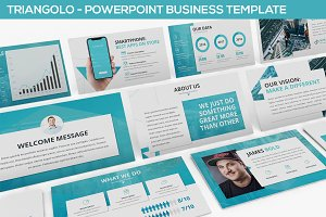 Triangolo - Powerpoint Business
