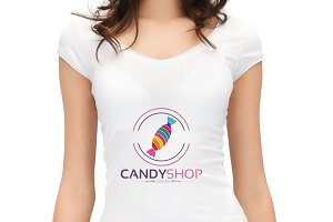 Candy Shop Logo Version3