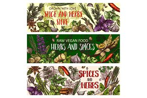 Vegan herbs and seasoning spices