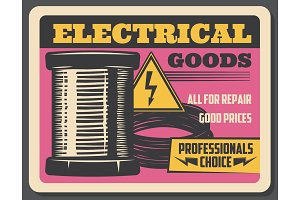 Electricity and electrical goods