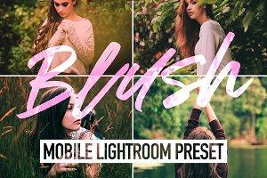 Blush Mobile Lightroom Preset
