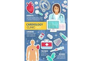 Cardiology medicine clinic service