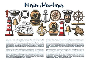 Marine adventure, nautical objects