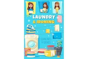 Home laundry and ironing service