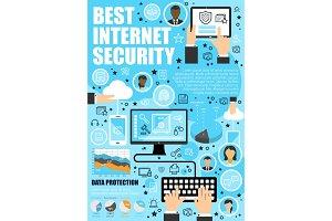 Secure online data internet security