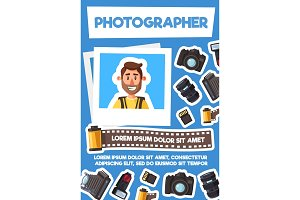 Photographer and photo equipment