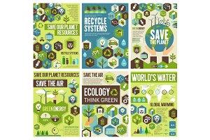 Save environment earth, air, nature