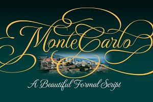 MonteCarlo 3 Font Package
