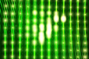 Glowing green led wall texture backg