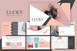 LUCKY - Presentation Template