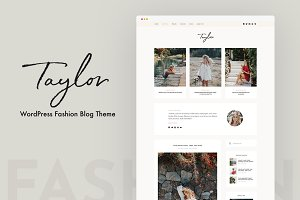 Taylor - WordPress Blog Theme
