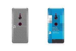 Sony Xperia XZ3 3d IMD Case Mockup